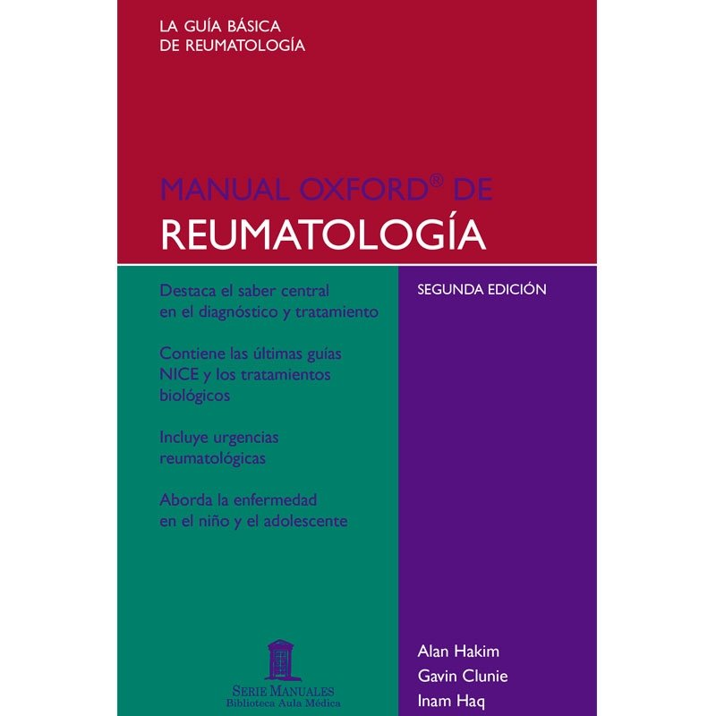 Manual Oxford Reumatología
